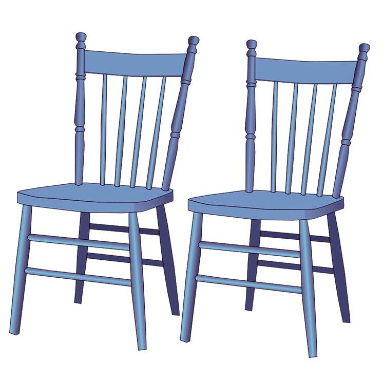 Chairs 3 White BG
